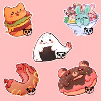 Food Animal Charms